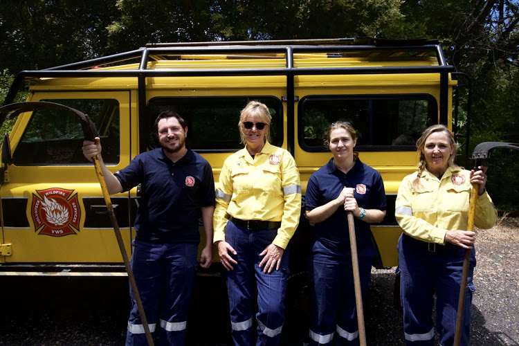 This is a man's world and we love it' say volunteer female firefighters