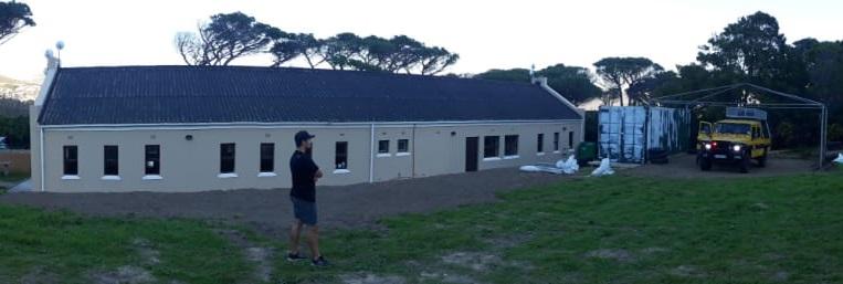 SPS Station's new base taking shape