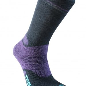 Trekker Women's Socks Black/Purple
