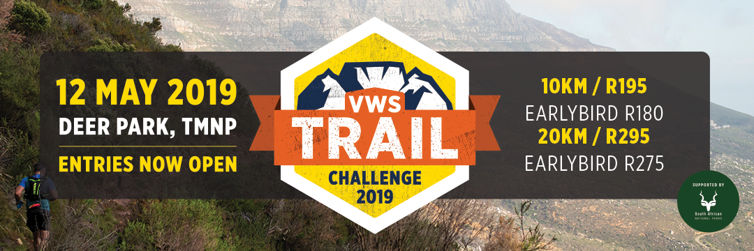 VWS Trail Challenge Table Mountain 2020